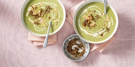 Koolhydraatarme lunch: witte bonen-broccolisoep