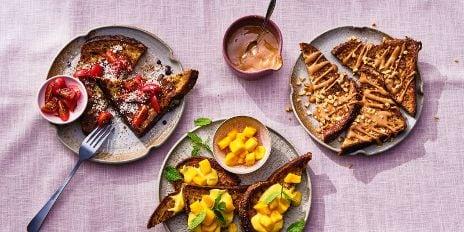 Koolhydraatarm ontbijt: wentelteefjes