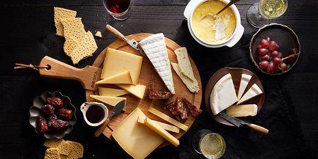 Alle kaasjes voor een excellente kaasplank.