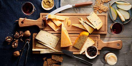 Alle kaasjes voor een Hollandse kaasplank.