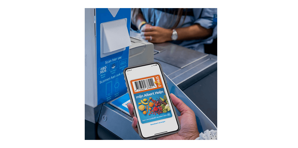 Zelf je digitale Bonuskaart scannen