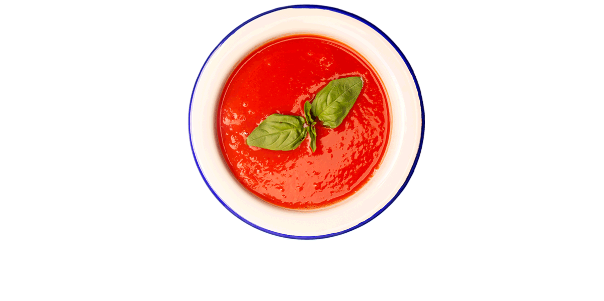 Iedereen geniet van een kom warme soep