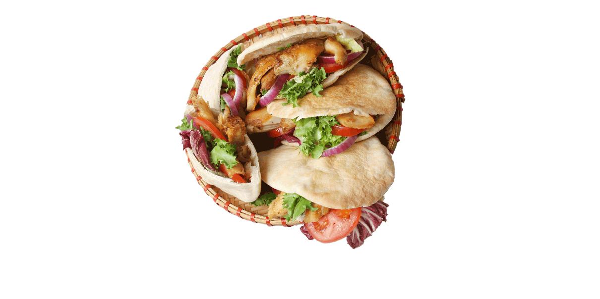 Je favoriete fast food gewoon lekker vegetarisch.