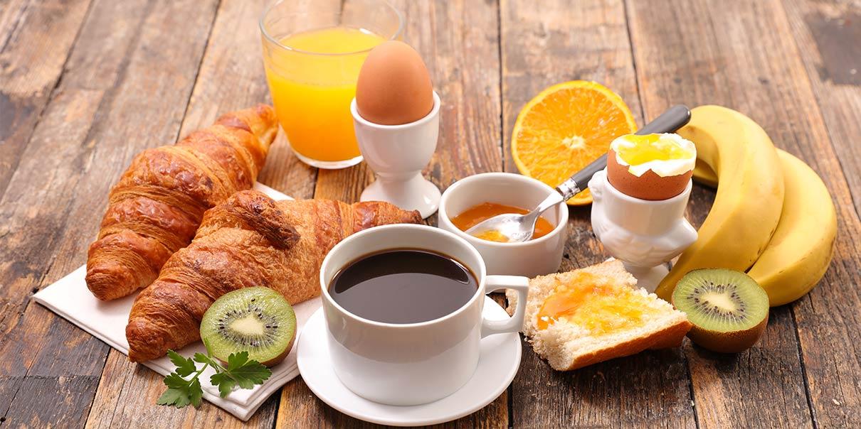 Een goede start van je dag.