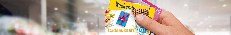 Albert Heijn winkelservices cadeaukaarten