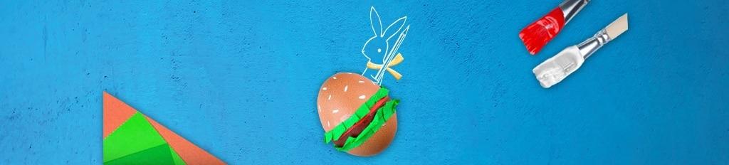 Je ei omtoveren tot een hamburger? Eitje!