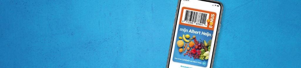 Zet in 3 stappen je Bonuskaart in je AH app