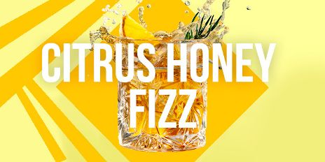 Citrus Honey Fizz