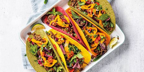 Mexicaanse tacos met een vegan twist
