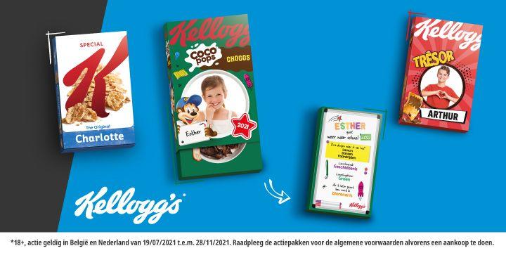 Maak het ontbijt bijzonder met Kellogg's, online te bestellen bij Albert Heijn.