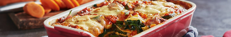Probeer deze groentelasagne met Heinz Tomato Frito