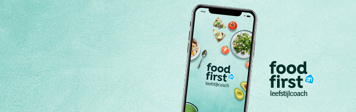FoodFirst helpt je met een gezondere levensstijl