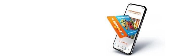 Activeer je Bonuskaart op mobiel.