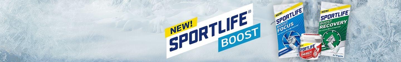 Nieuw: Sportlife Boost Focus, Energy & Recovery