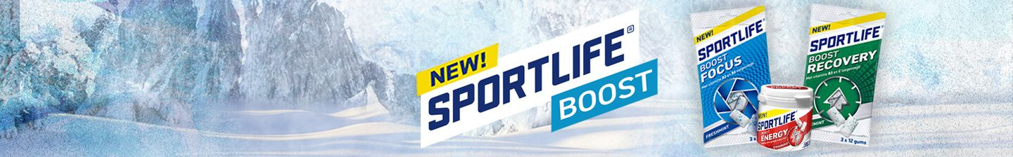 NEW: Sportlife Boost Focus, Energy & Recovery