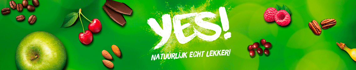 Fruitrepen van YES!