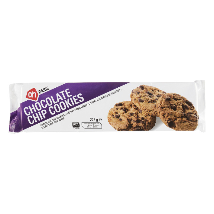 kcal chocolate chip cookie