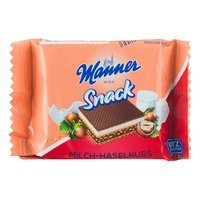 Een afbeelding van Manner Milk-hazelnut wafer