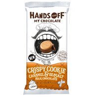 Een afbeelding van Hands Off Crispy cookie caramel & seasalt milk