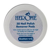 Een afbeelding van Herôme Caring nail remover pads