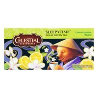 Een afbeelding van Celestial Seasonings Sleepytime green tea lemon jasmin 1-kops