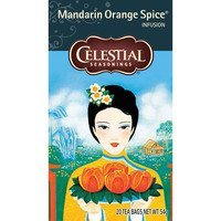Een afbeelding van Celestial Seasonings Mandarin orange spice tea 1-kops