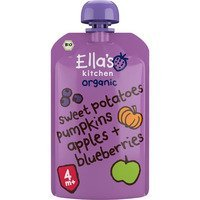 Ella's Kitchen Sweet patatoes pumpkins apples berry 4+