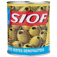 Een afbeelding van Siof Green olives without pit