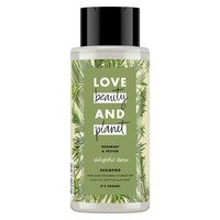 Een afbeelding van Love Beauty & Planet Rosemary & vetiver shampoo