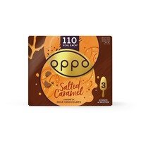 Een afbeelding van Oppo Ice Cream Sticks salted caramel & chocolate