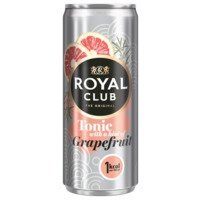 Een afbeelding van Royal Club Tonic with a hint of grapefruit fles