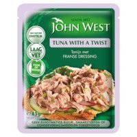 Een afbeelding van John West Tuna with a twist French dressing