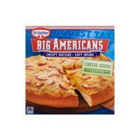 Dr. Oetker Big Americans pizza cheese onion
