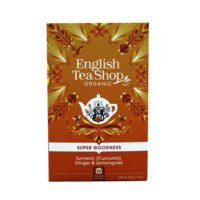 Een afbeelding van English Tea Shop Tea turmeric, ginger & lemongrass bio