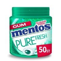 Een afbeelding van Mentos Gum Bottle pure fresh wintergreen