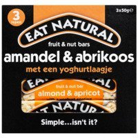 Een afbeelding van Eat Natural Fruit & nut bars amandel & abrikoos