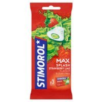 Een afbeelding van Stimorol Kauwgom max splash strawberry lime