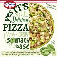 Dr. Oetker Yes it's pizza spinaziebodem