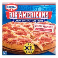 Dr. Oetker Big Americans XL pizza double pepperoni
