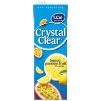 Een afbeelding van Crystal Clear Lemon passion fruit