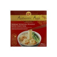 Een afbeelding van Authentic Asian Wonton soup with vegetables and noodles