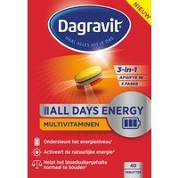 Een afbeelding van Dagravit All Days Energy Tabletten