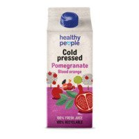 Een afbeelding van Healthy People Pomegranate juice cold pressed HPP