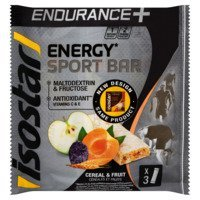 Een afbeelding van Isostar Long energy endurance bar cereals&fruits