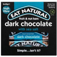 Een afbeelding van Eat Natural Dark chocolate & sea salt