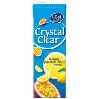 Een afbeelding van Crystal Clear Lemon passion fruit pak