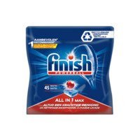 Een afbeelding van Finish All-in-1 max vaatwastabletten regular