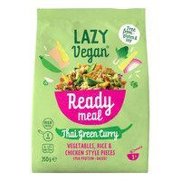 Een afbeelding van Lazy Vegan Thai green curry ready meal