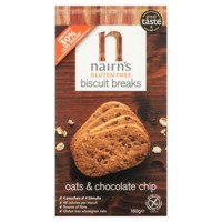 Een afbeelding van Nairn's Chocolate chip biscuit break