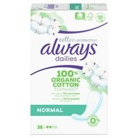 Een afbeelding van Always Dailies cotton normal